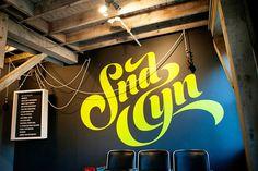SND CYN Studios Grand Opening « Mattson Creative #vinyl #lettering #studio