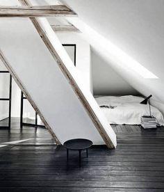 The Design Chaser: Windows + Doors   Steel Framed #interior #design #decor #bed #deco #decoration