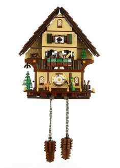 Black Forest Cuckoo Clock | Flickr Photo Sharing! #nick #swiss #lego #tatar #by #clock
