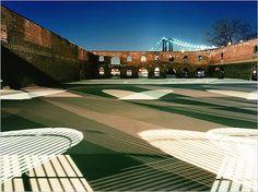 Scenes From the Night Shift - NYTimes.com #shadows #dusk #stripes #photograph #warehouse #empty #lighting #bridge #shadow
