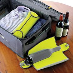 BottleGuard Neoprene Wine Protector #tech #flow #gadget #gift #ideas #cool