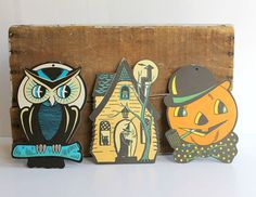 Vintage Halloween Decor: Stylish, Not Scary #cut #halloween #decor #vintage #outs