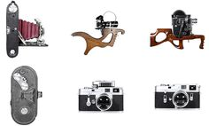 photos, camera, modern, vintage
