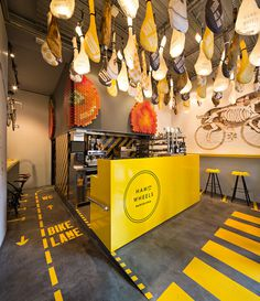 Forma & Co — Ham on Wheels #interior #sign #environmental #industrial #signage