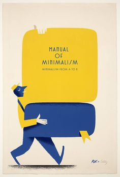 Minimalisms by Ricardo Guasco on Behance http://bit.ly/1u0wdFc #type #illustration #character