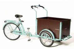 Rolling Orange Bakfietsen Bikes (NOTCOT) #bicycle