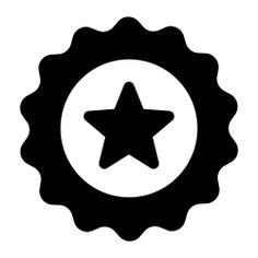 See more icon inspiration related to star, new, sticker, badge, design, badges, shapes and interface on Flaticon.