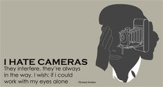 Post Traumatic Selfie Disorder #illustrator #design #richard #avedon #photogrphy #minimal
