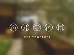 Alliteration Inspiration: Texas & Togetherness / on Design Work Life. #icon #together
