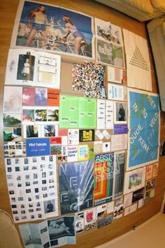 Things Organized Neatly #magazines #organization #posters #life