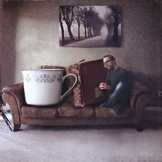 joel-robinson-surreal-photography-3 #cup #surreal #photography #book