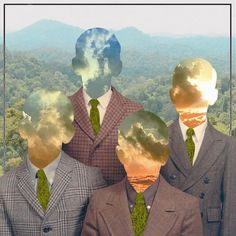 Photos - Google+ #portrait #surreal #collage #jungle #sacramento #odd moniker #imperfectionist