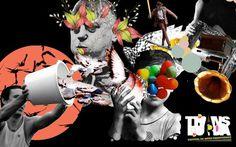 45 jujubas #transborda #design #graphic #bird #bucket #poster #collage