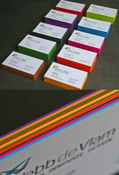 Colored Business Cards - CSS-Tricks
