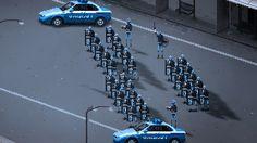 Riot game #illustration #riot #cops
