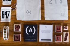The Area Code Project - MCQ #stamp #classic #brand #identity #type