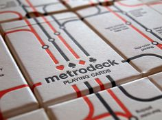 Metrodeck - Box #packaging #playing #york #cards #new