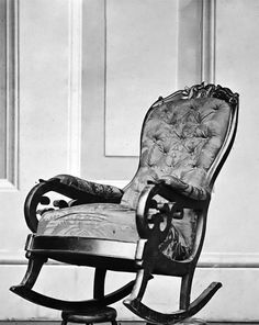 Abraham Lincoln Assassination Chair #lincoln #abraham #chair #assassination