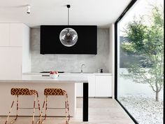 Melbourne House Created by Inglis Architects - #kitchen, kitchen ideas, kitchen design, #furniture
