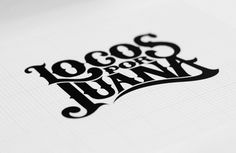 Typeverything.com — Locos Por Juana by Diego... - Typeverything #flourish #lettering #branding #logo #type #typography