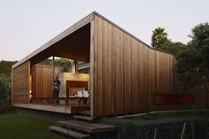 Bethells Bach – Two-Bedroom Bach at the Beach by Herbst Architects