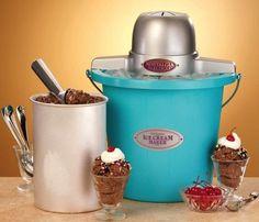 Nostalgia Electrics Ice Cream Maker #gadget