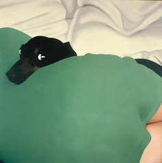 """amare-habeo: """" Gérard Schlosser (French, born in 1931) Charlus, 1971 Acrylic on sanded canvas, 150 x 150 cm. """""""
