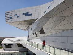 CJWHO ™ (Il Taiyuan Museum of Art di Preston Scott Cohen) #photography #design #architecture #museum