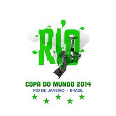 Rio de Janerio #design #world #soccer #football #brazil #cup #typography