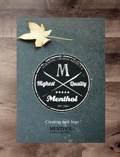 creating #logotype #typographics #book #menthol #colour