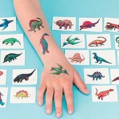 Dinosaur #photo #tattoo #kids #dinosaur #children