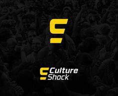 Culture Shock Music Festival - Robbie Junge #shock #festival #yellow #black #college #culture #purchase #music #logo