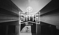 Satta Skates Hellomatt #logo #typography