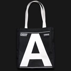 Ugmonk — UPPERCASE (TOTE BAG) #typography #lettering #tote bag