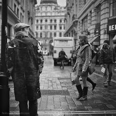 Man Waiting Little Argyll Street London 2011 #london #city #travel #scape #landscape #photography #street