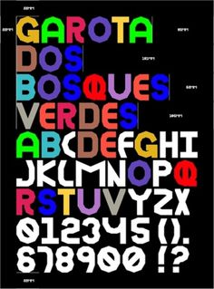 | Marquês- visual references | Page 14 #typography