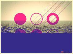 Inside the Edge on the Behance Network #poster #art