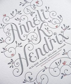 jessica_hische #lettering #hische #jessica #type #typography