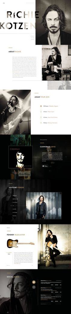 Richie Kotzen Website by Tulus Driyo