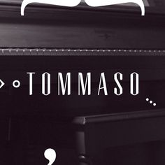 Tommaso | Arecraft #typeface #arecraft