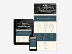 BMC #branding #ipad #responsive #design #tablet #website #iphone #mobile #web