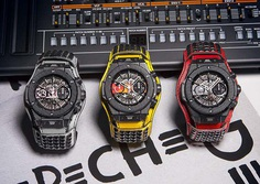 "New Hublot Big Bang #DepecheMode ""The Singles"" Limited Edition."