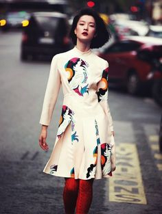 Du Juan by David Bellemere for Vogue China #fashion #model #photography #girl