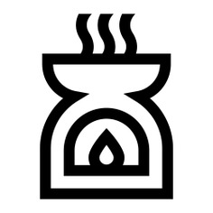 See more icon inspiration related to aroma, miscellaneous, wellness, therapy, aromatherapy, zen, meditation, spiritual, incense, oriental and candle on Flaticon.