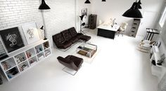 Candy Black | Design Boutique | Studio #interior #monochromatic #studio
