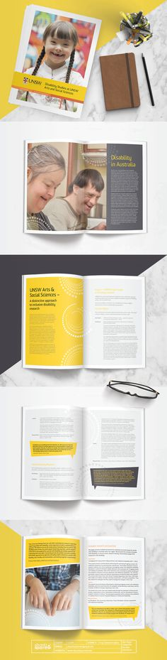 Design by Shanti Sparrow Client: UNSW Project Name: Program Brochure  #Design #graphicdesign #layout #magazine #typography #branding #graphi