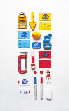 Studio Business Cards By Estudio Pum #business #branding #card #design #graphic #identity