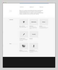 Mauva #layout #website #web #web design