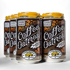 Good People Coffee Stout Cans #packaging #beer