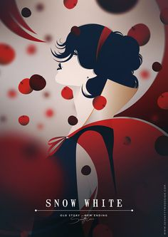 Snow White by Kath #illustration #disney #white #snow